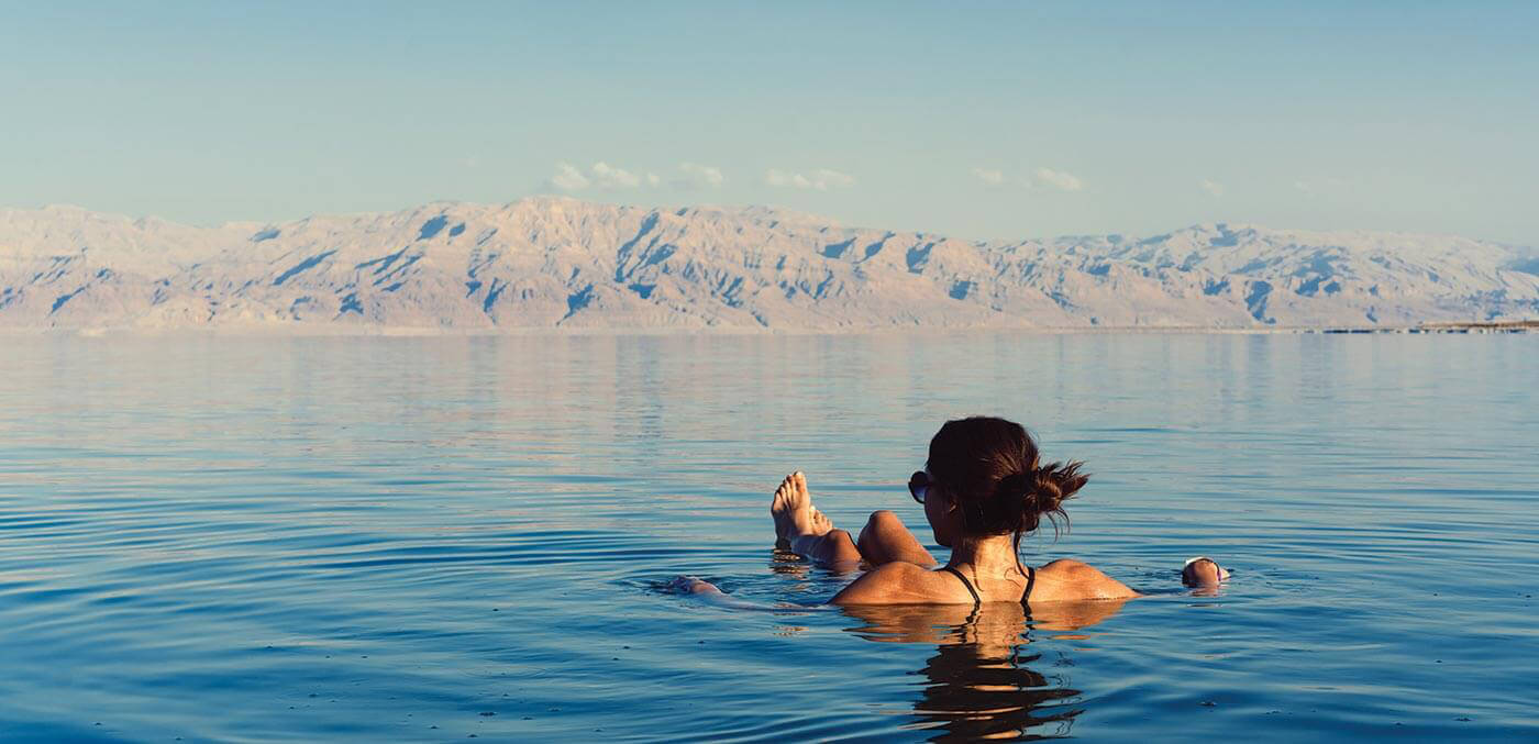 Floating in the Dead Sea is a rite of passage while in Jordan