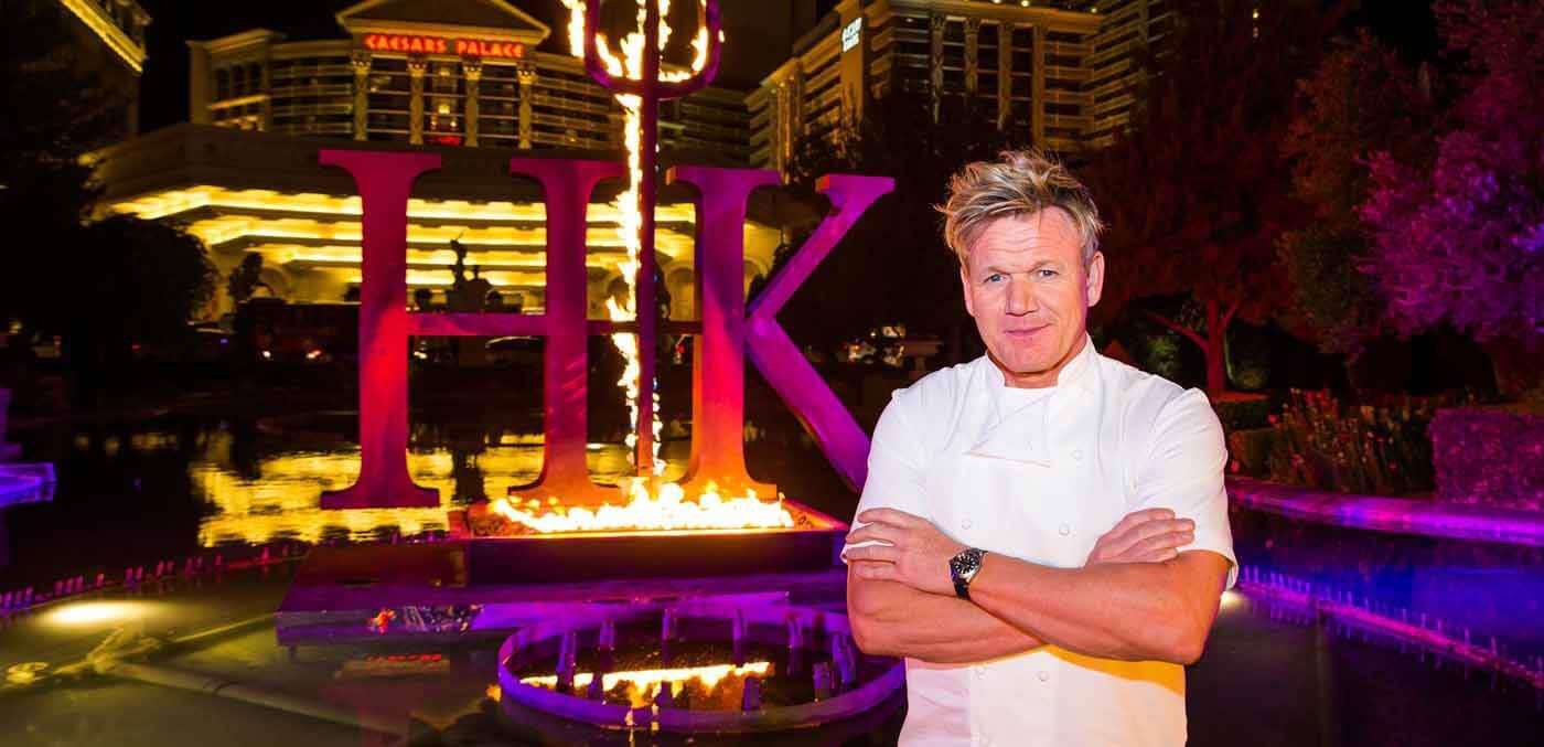 Gordan Ramsay, Hells' Kitchen, Las Vegas