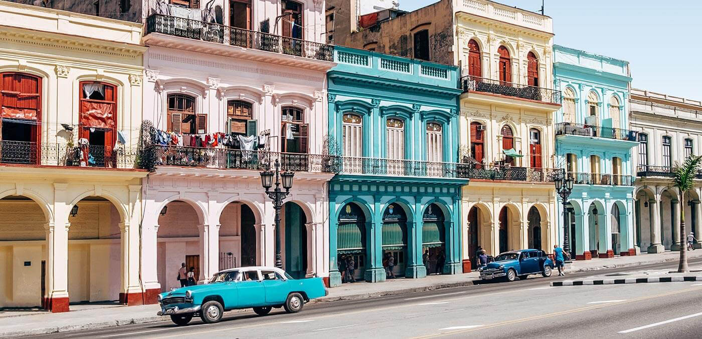 Havana, Cuba, first holiday as a couple