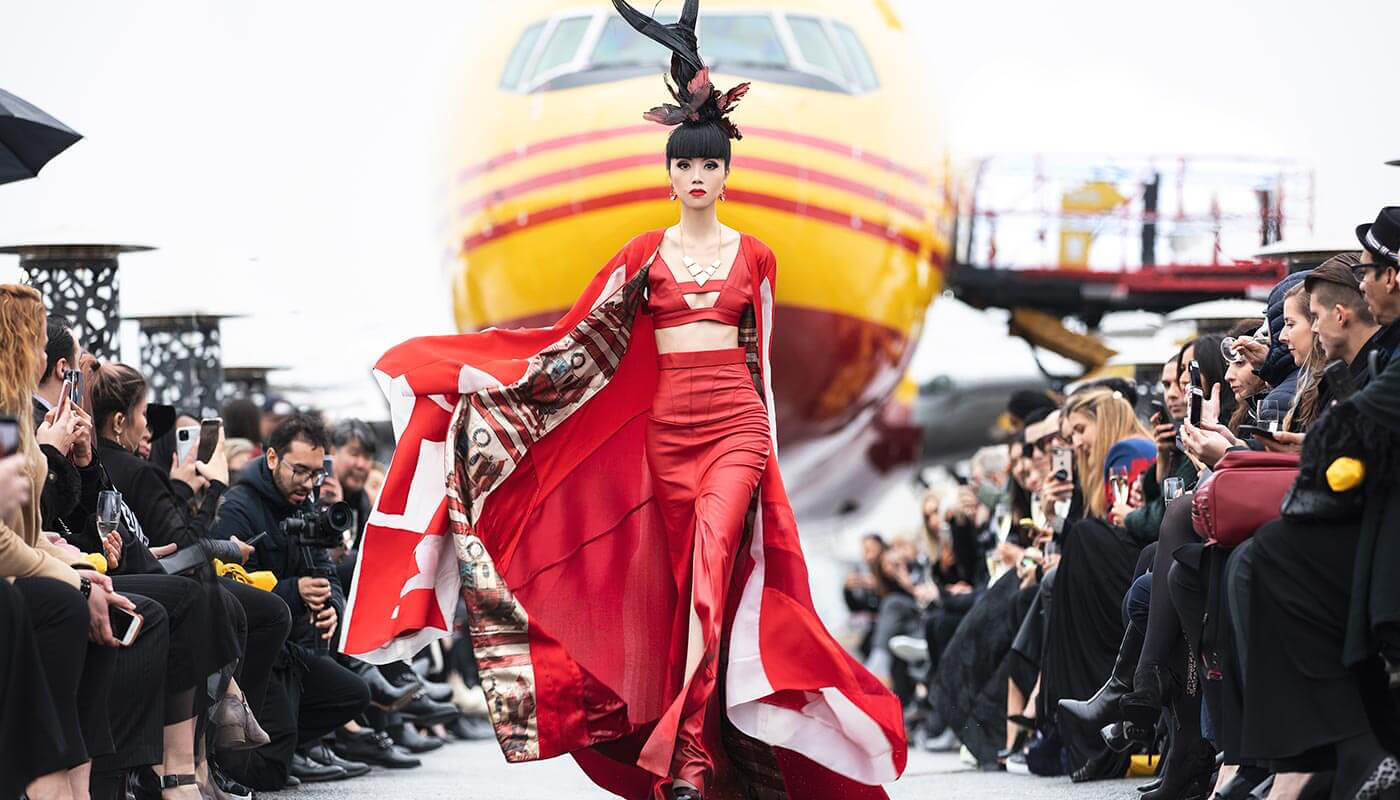 Jessica Minh Anh Runway on the Runway