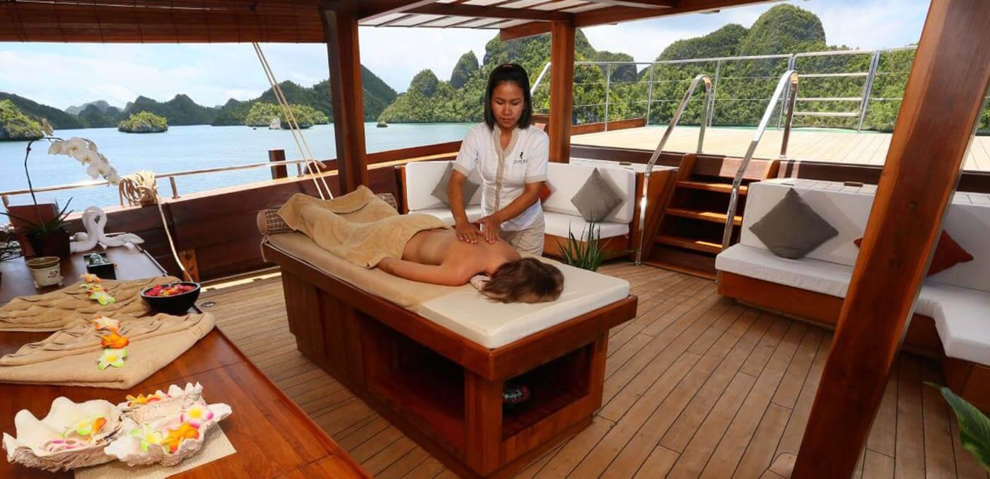 Massage onboard Lamina