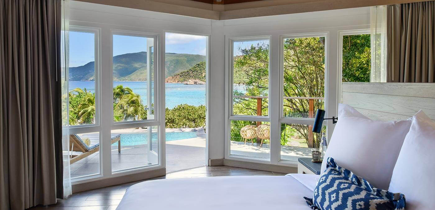One Bedroom Pool Suite at Rosewood Little Dix Bay
