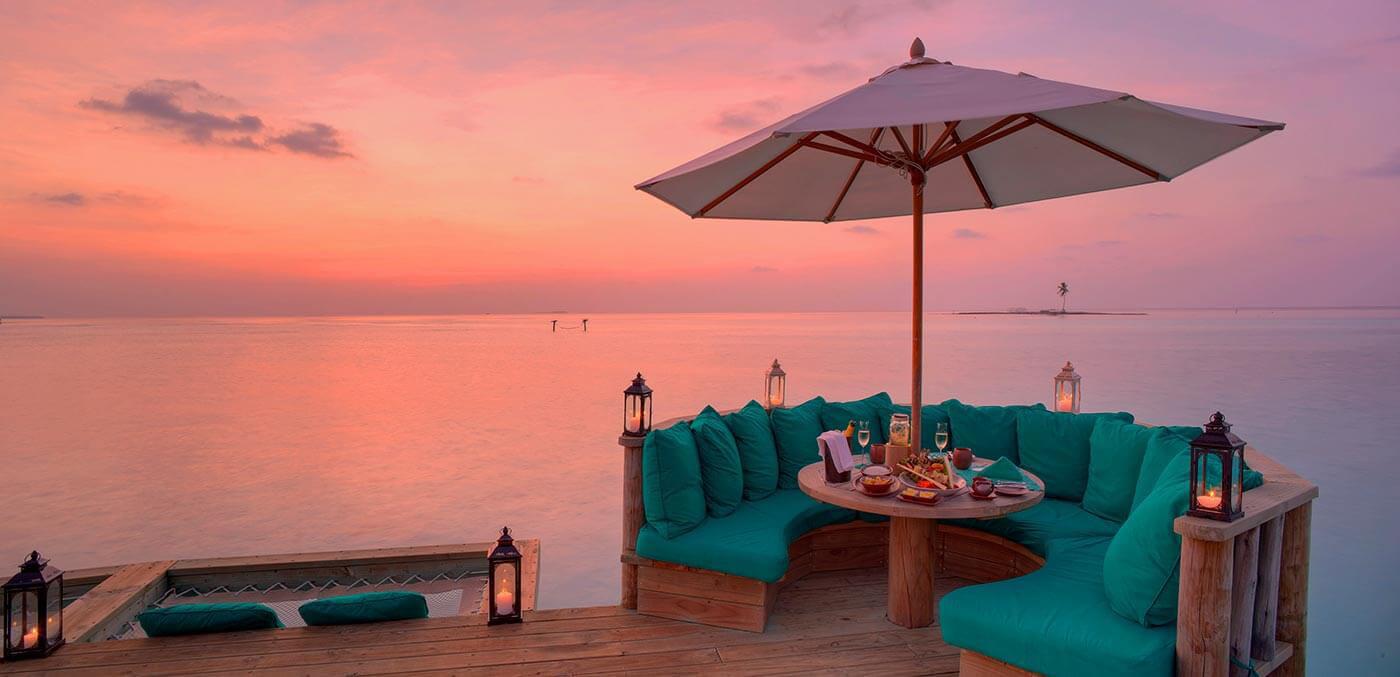 Over Water Bar at Gili Lankanfushi