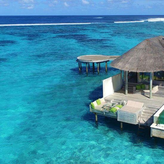 Overwater Villas at Six Senses Laamu