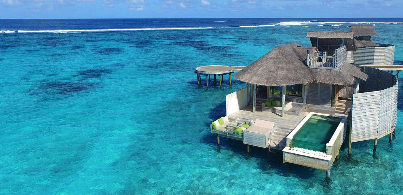 Overwater Villas at Six Senses Laamu