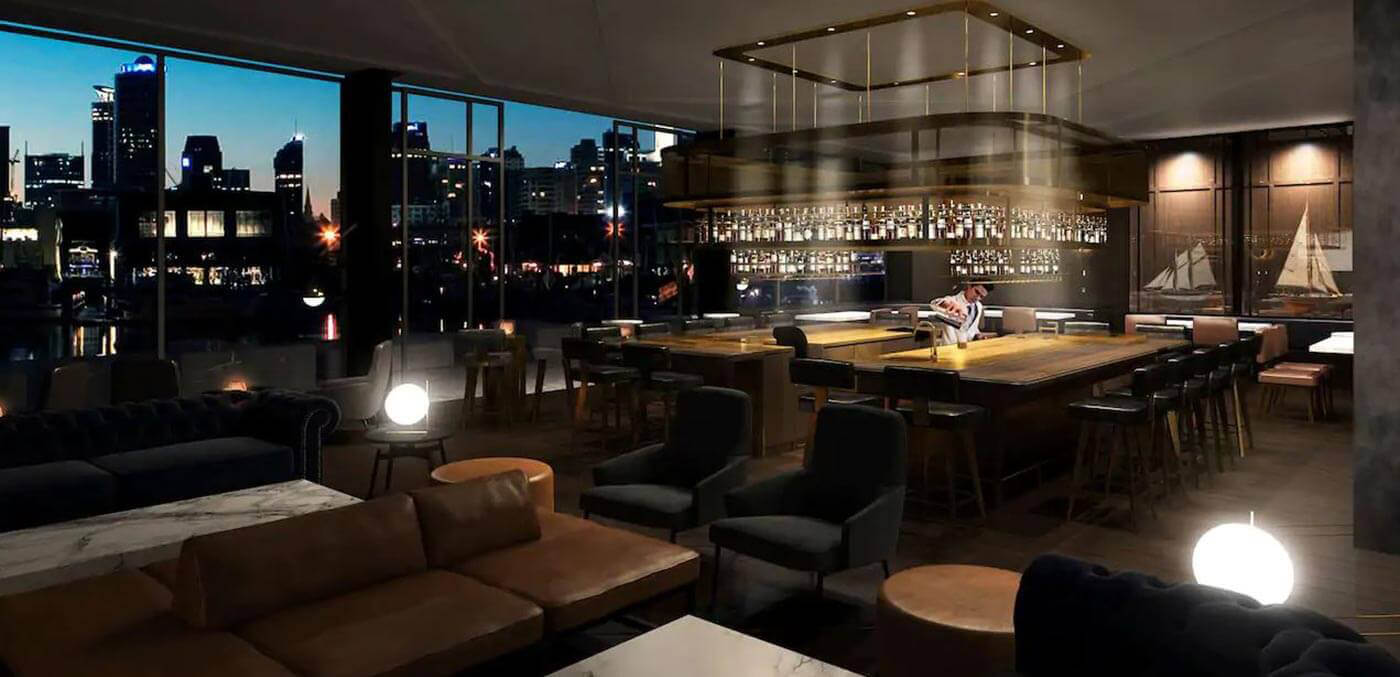 Park Hyatt Auckland, Captains Bar