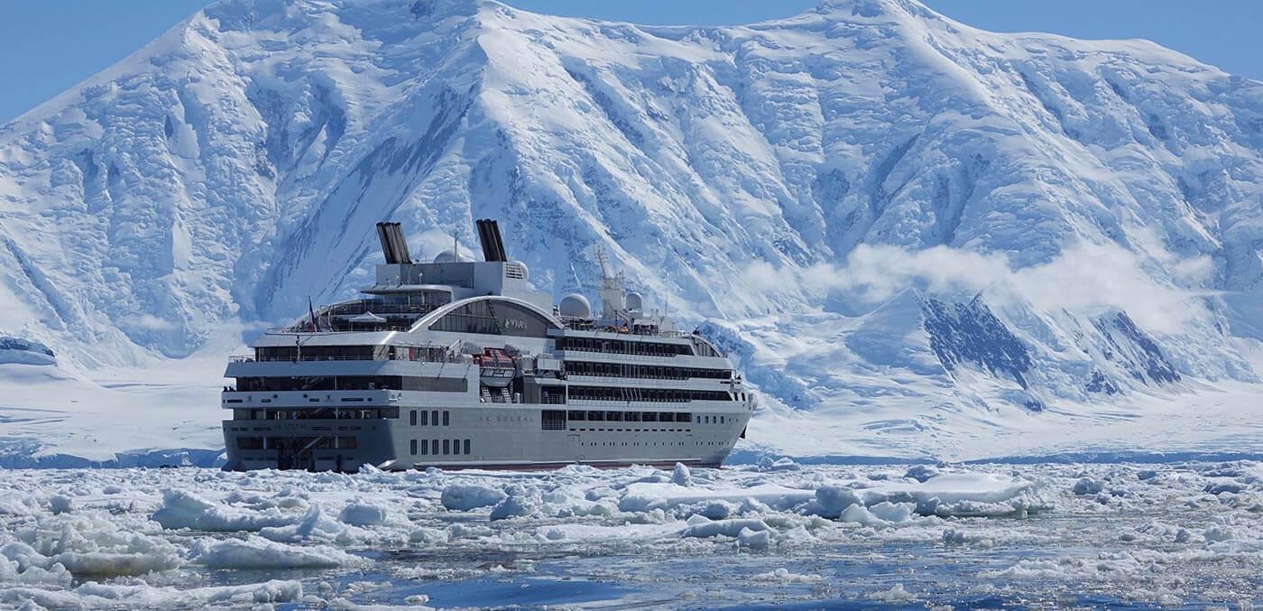 Ponant in Antarctica