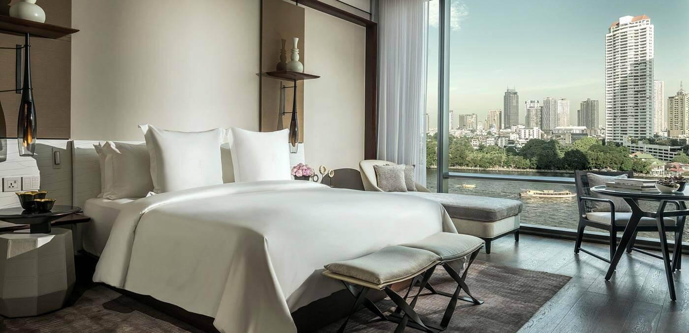 Room at Four Seasons Bangkok at Chao Phraya River