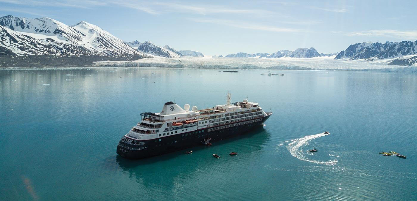 Silversea Expeditions in the Artic