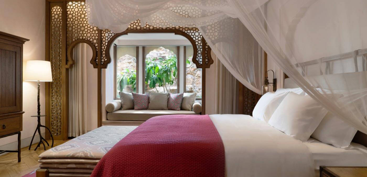 Six Senses Fort Barwara Deluxe Bedroom