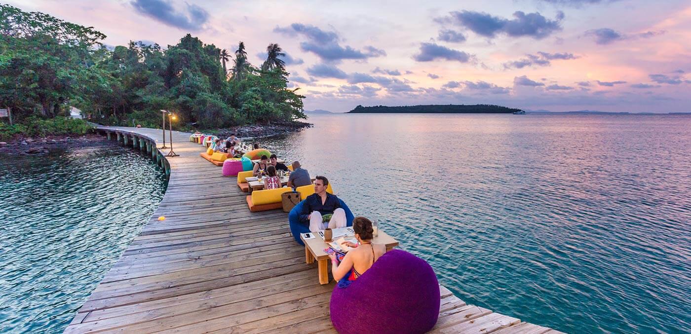 Soneva Kiri Resort Jetty Dining