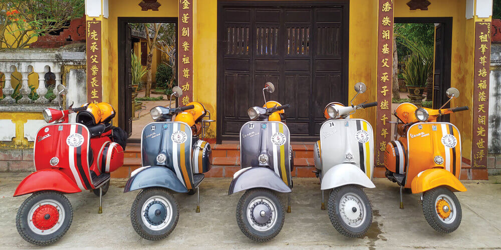 Streets & Eats of Hoi An with Vespa Adventures