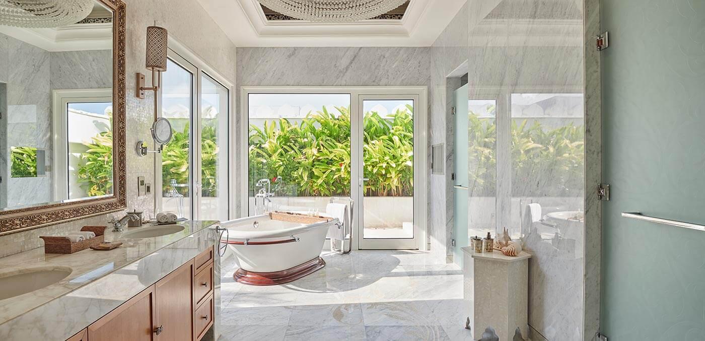 Presidential Suite Bathroom at Park Hyatt Zanzibar