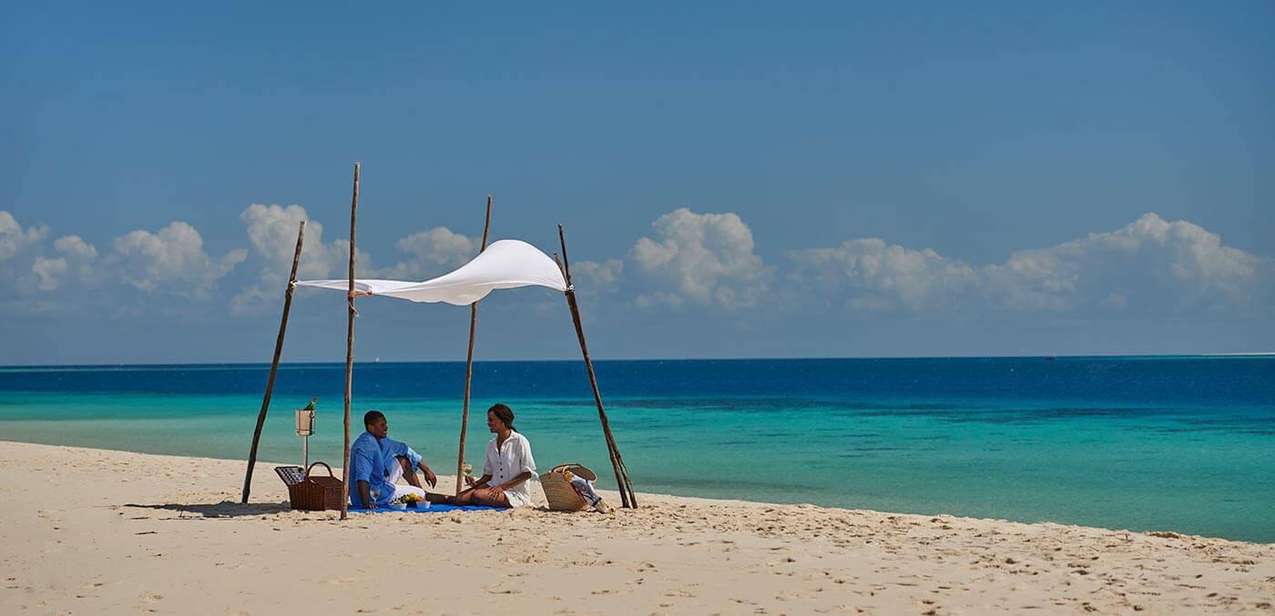 Sandbank Picnic Lunch at Park Hyatt Zanzibar