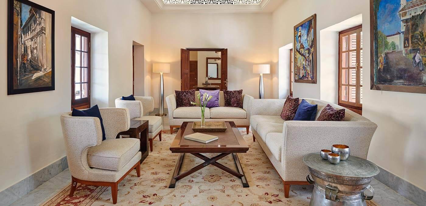 Zanzibar Suite Living Room