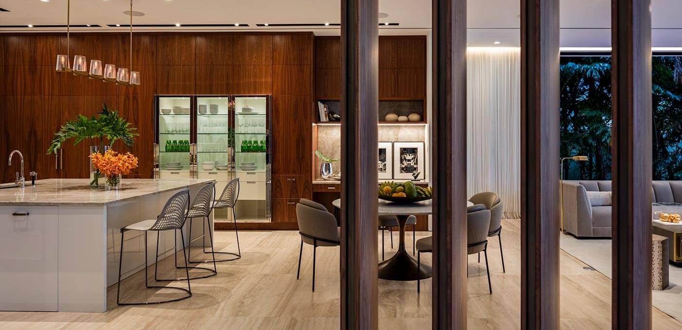 Dining room at 224 Bal Bay Drive