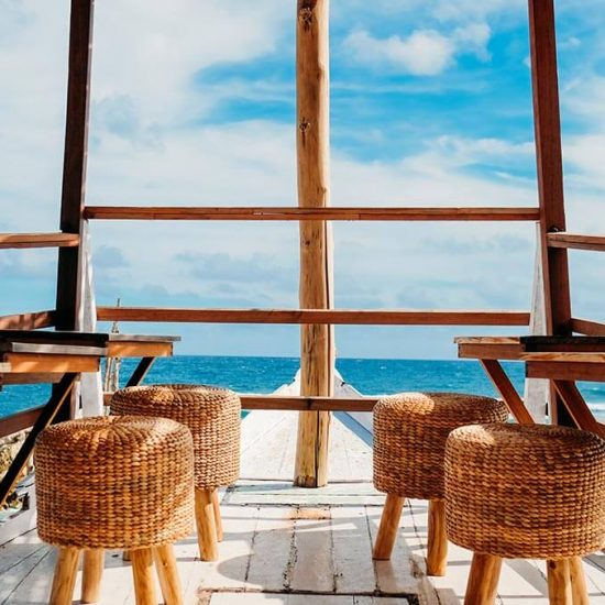 View at Minoo Beach Club