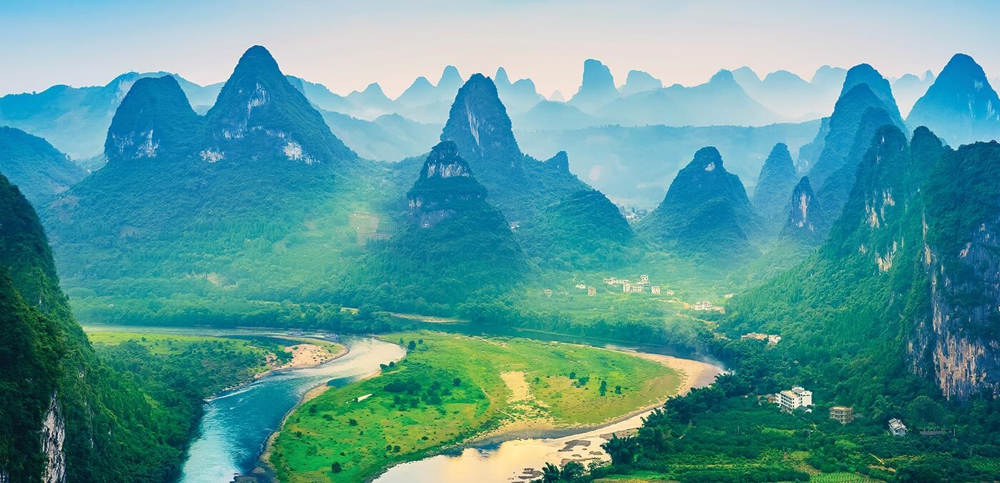 Landscape of Guilin, China
