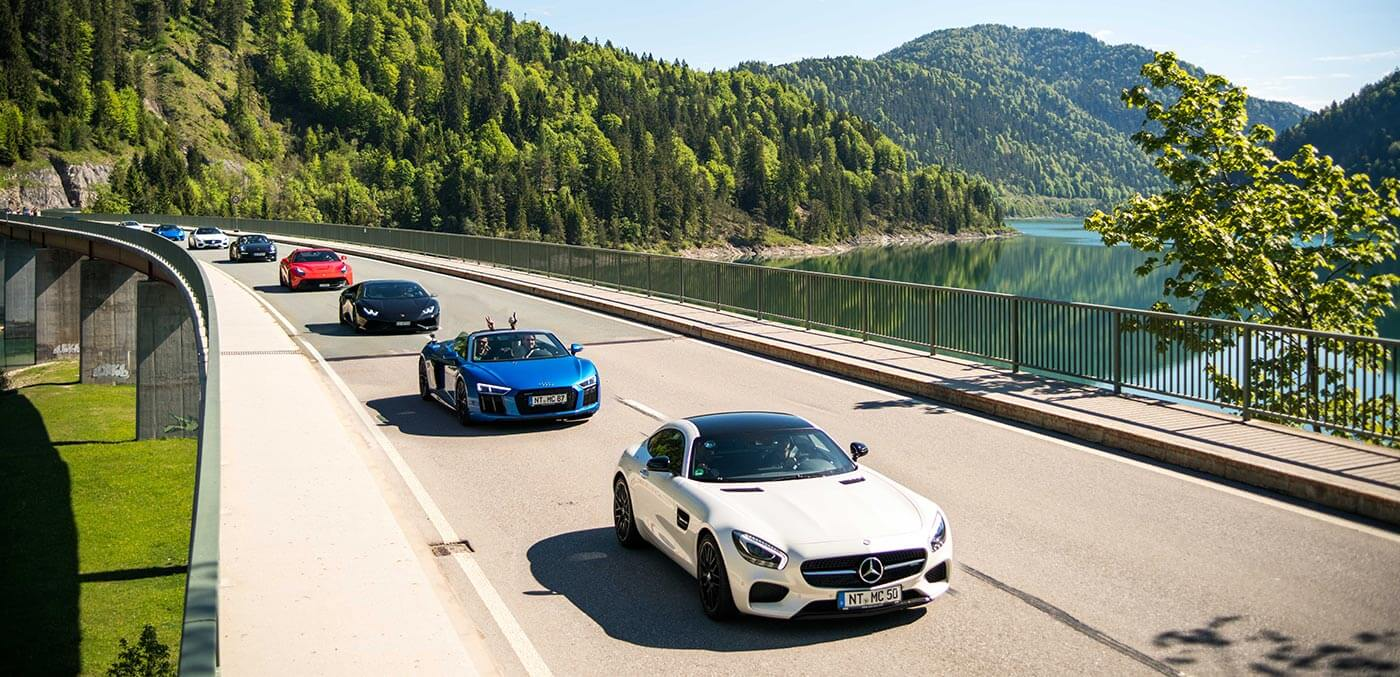 Supercar tour of Germany and Oktoberfest