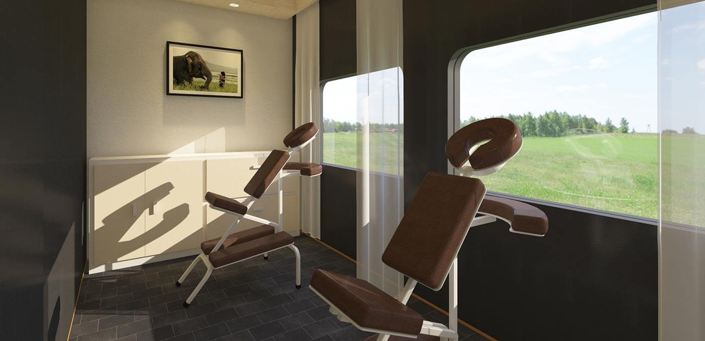 The Vietage massage room