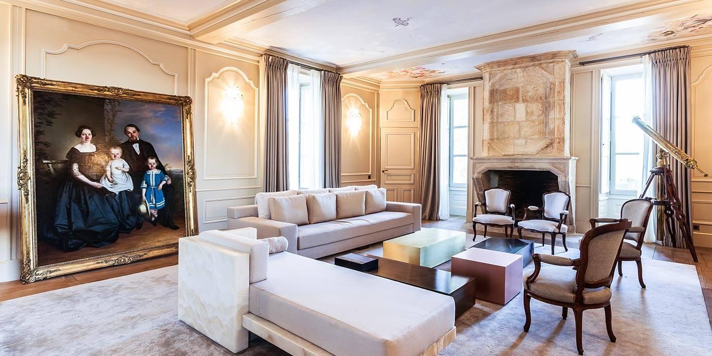 Domaine des Etangs lounge