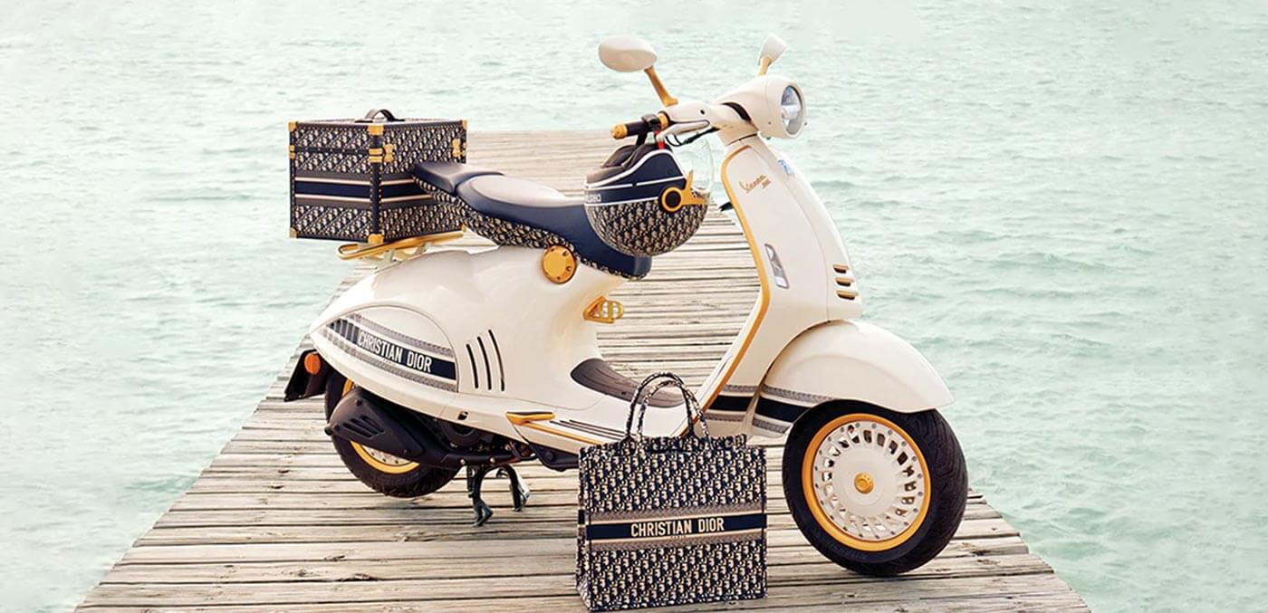 Limited edition Dior Vespa