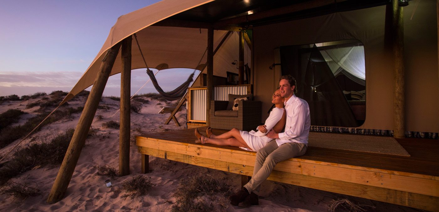 Sal Salis Ningaloo Reef Honeymoon Tent