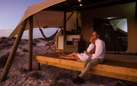 Sal Salis Ningaloo Reef Honeymoon Tent