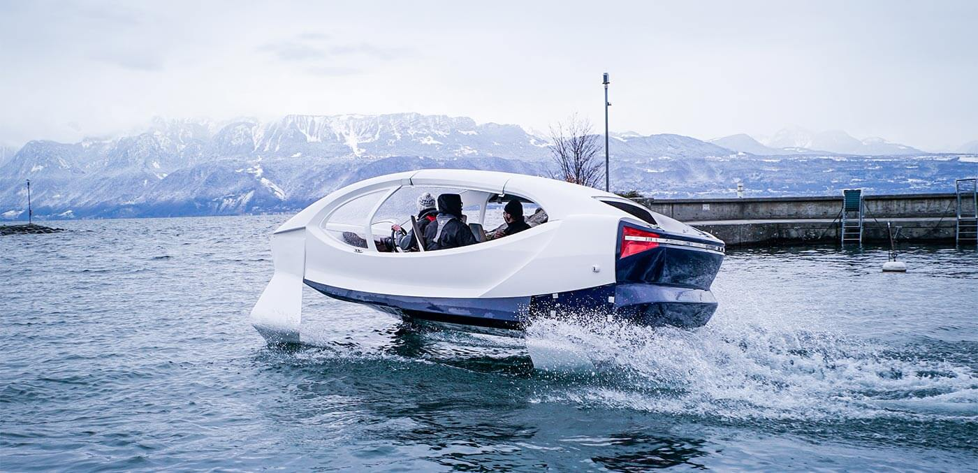 SeaBubble in Geneva
