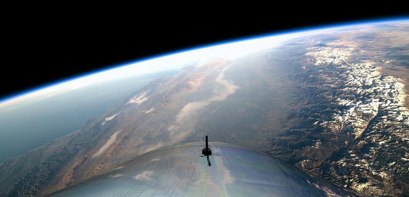 Virgin Galactic in Space