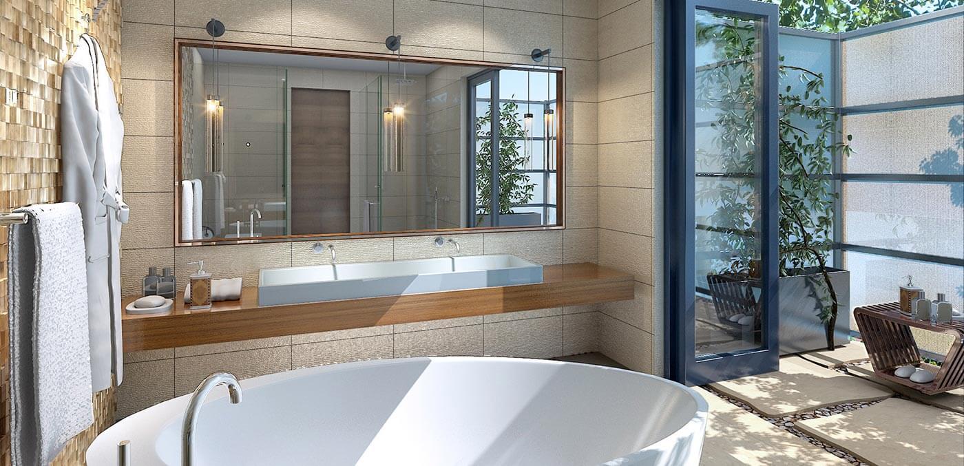 Bathroom at Stanly Ranch Napa Valley