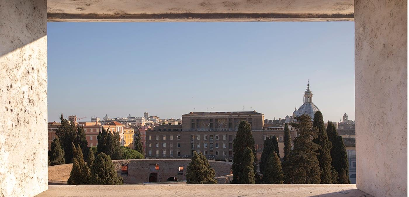 Bvlgari Rome Terrace View