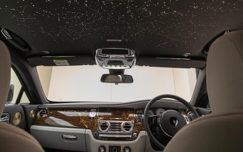 Interior of the Wraith Eagle VIII