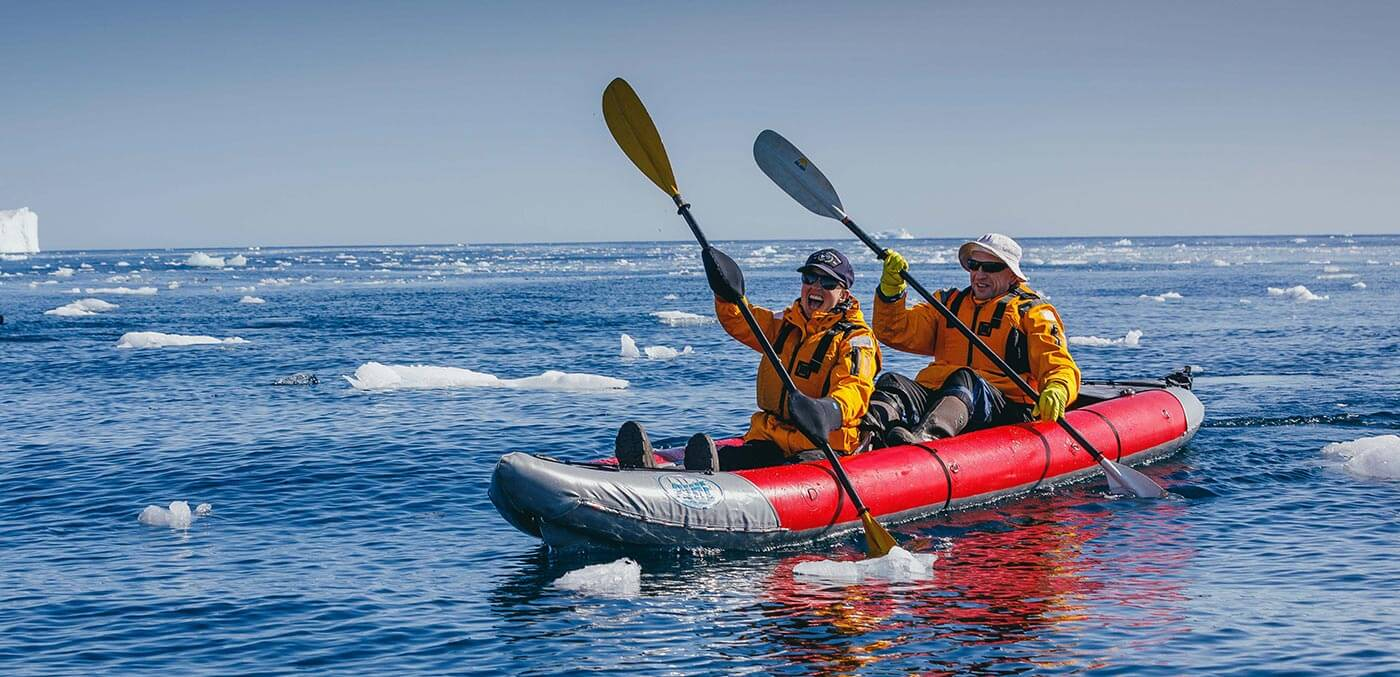 On the zodiacs with Quark Expeditions