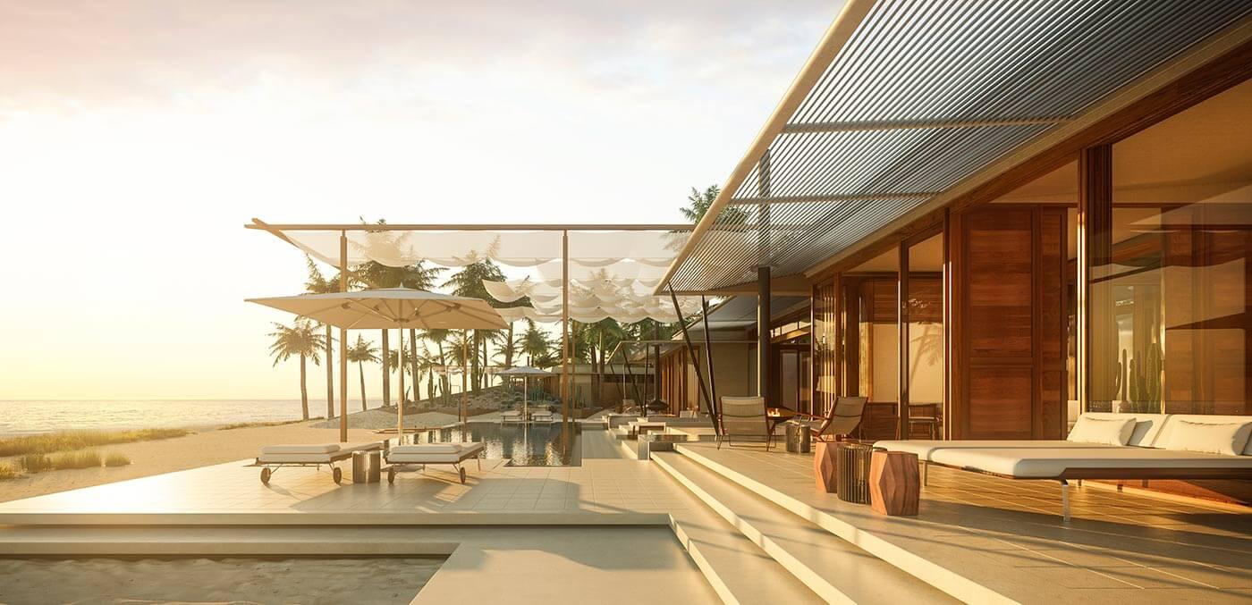 Residence pool at Amanvari