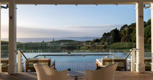The view from The Residences at Kauri Cliffs