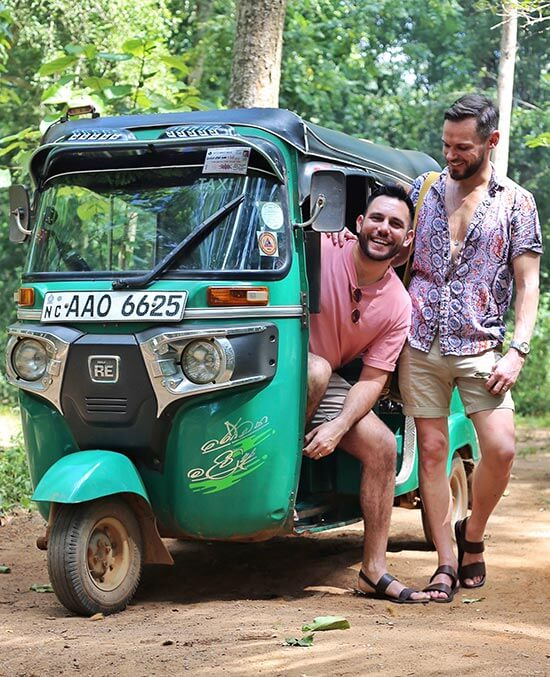 Tuk, tuk's in Sri Lanka