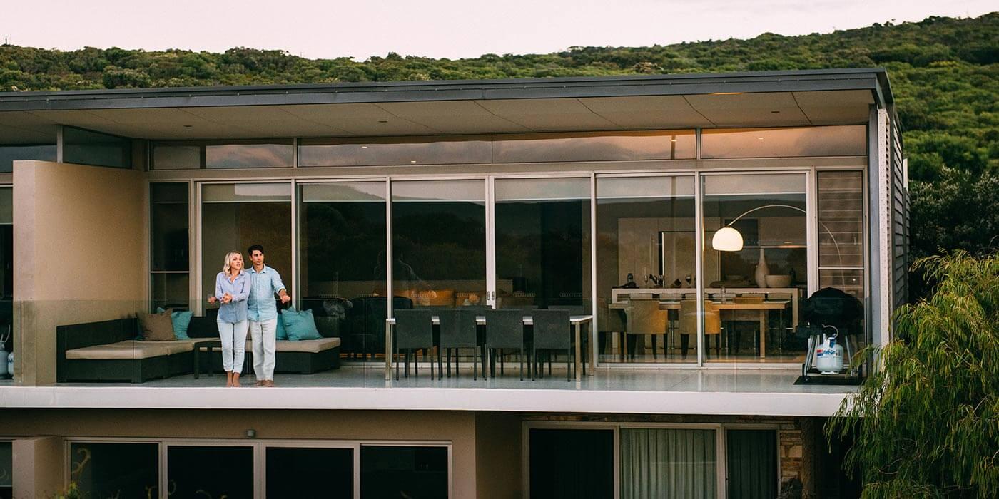 Balcony of Smiths Beach Resort
