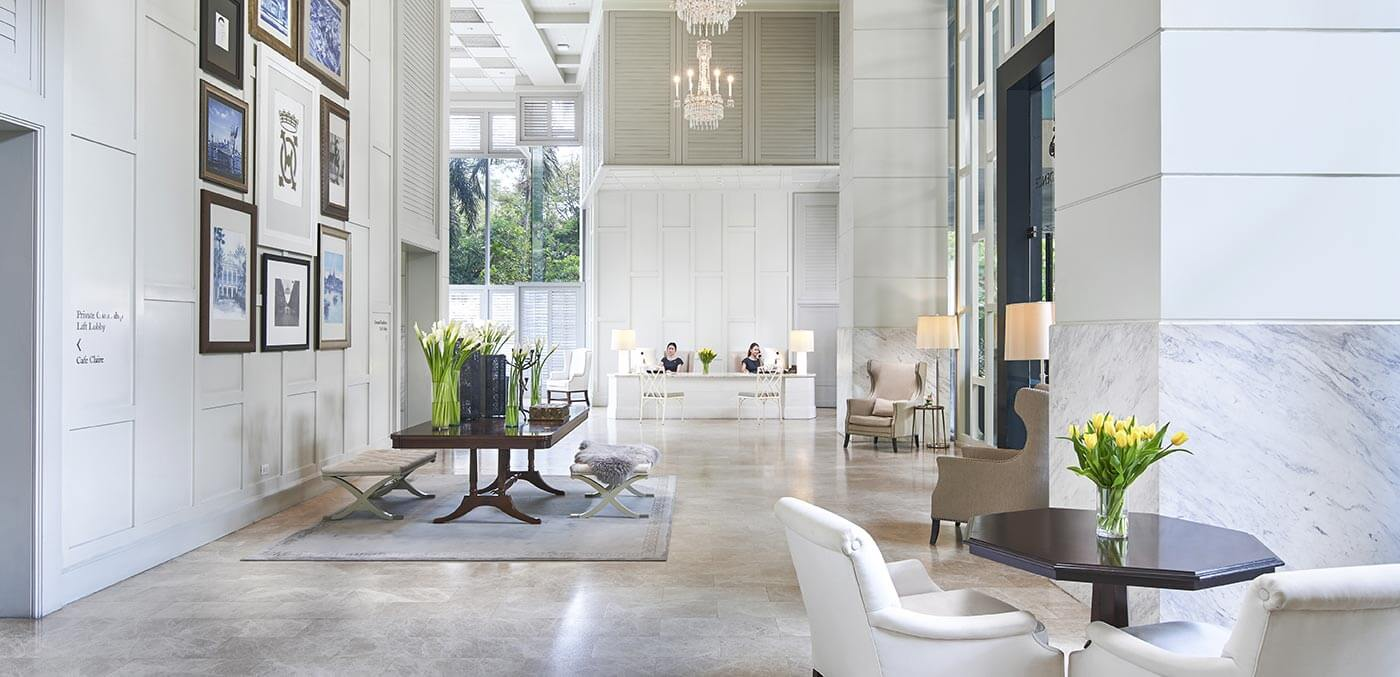 Lobby at Oriental Residence Bangkok