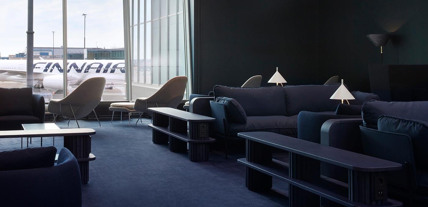 Finnair Lounge