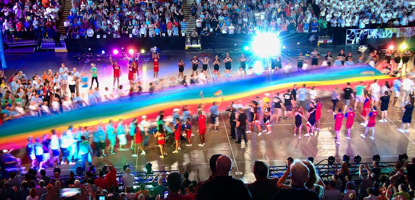 Gay Games opening ceremony