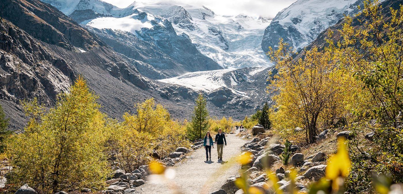 Morteratsch Glacier, Switzerland