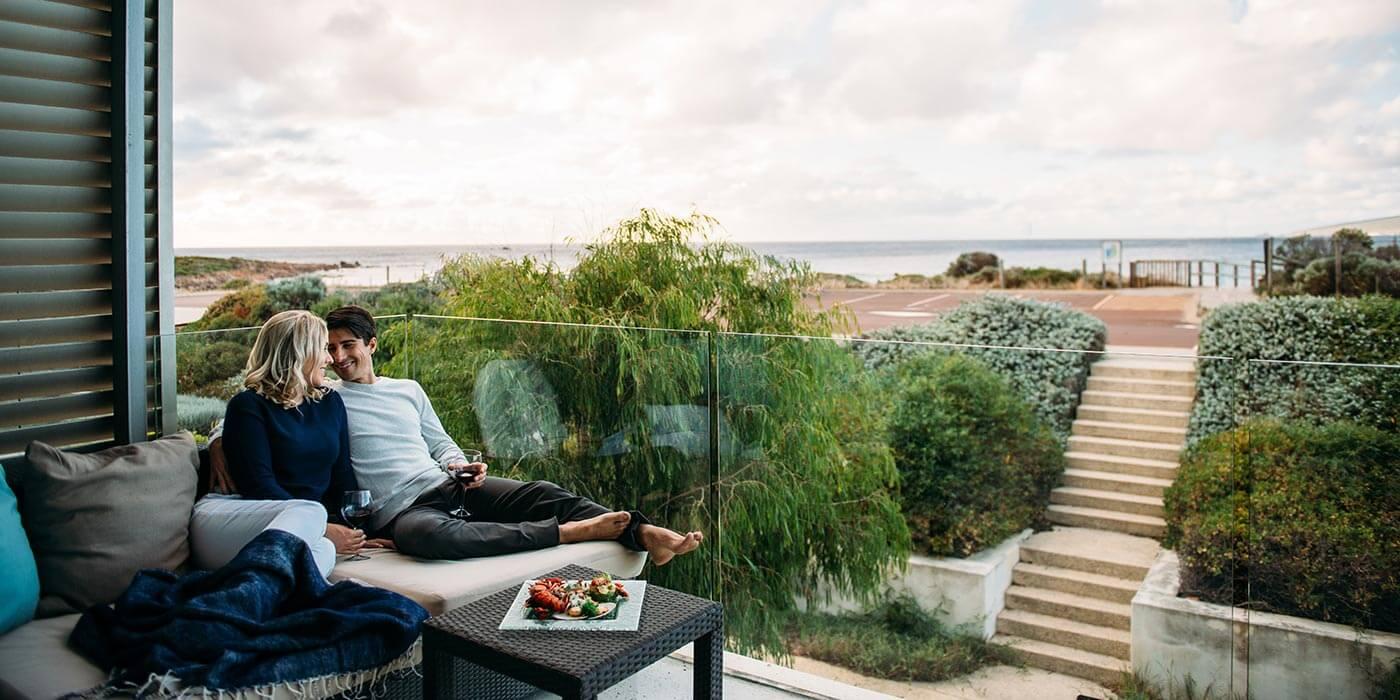 Smiths Beach Resort balcony