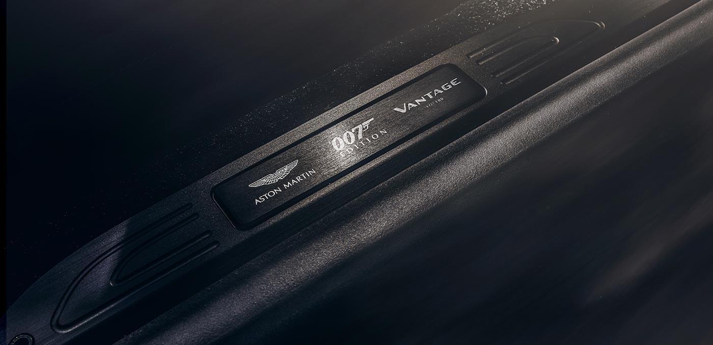 Vantage 007 Edition details