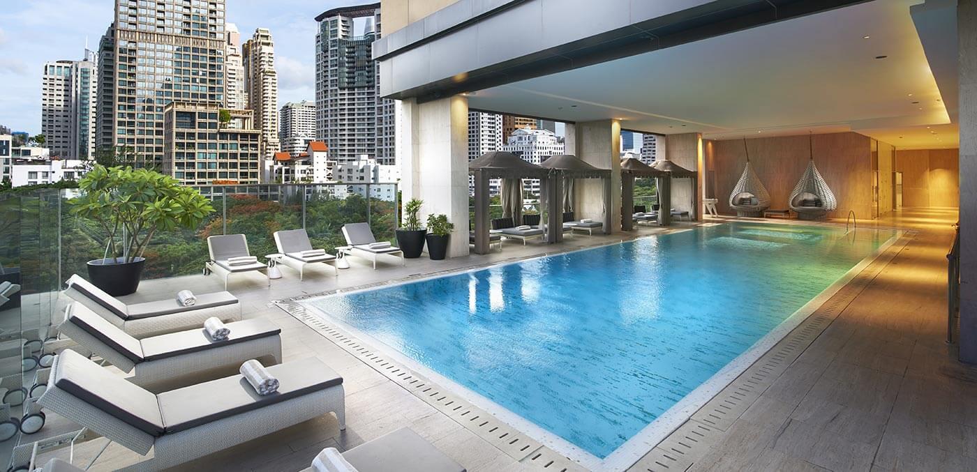 Pool at Oriental Residence Bangkok