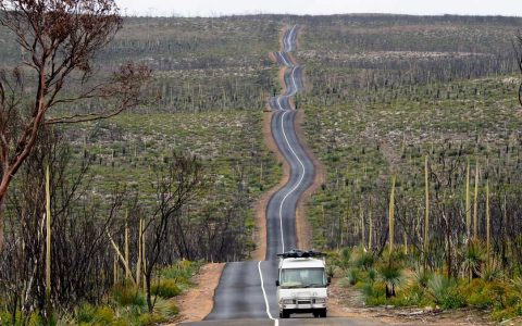 Flinders Chase National Park's Instagrammable road