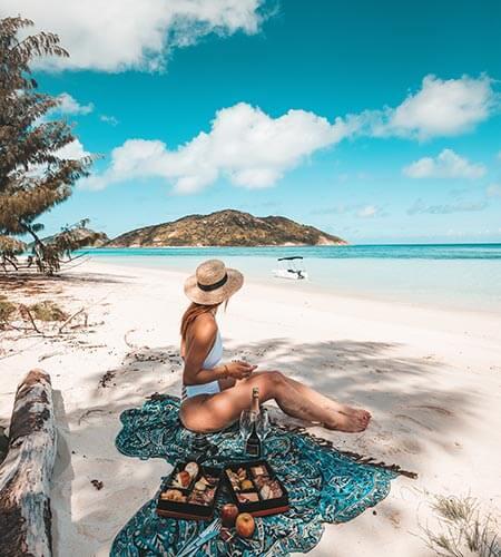 Picnic on Lizard Island