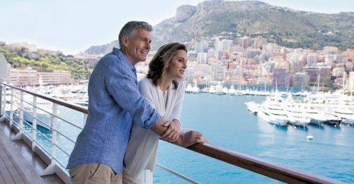 Scenic Vistas from Private Balcony on board Regent Seven Seas Splendor