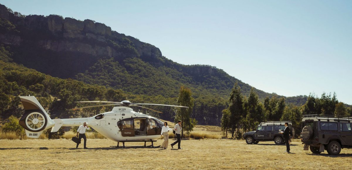 Emirates One&Only Wolgan Valley secluded accommodation