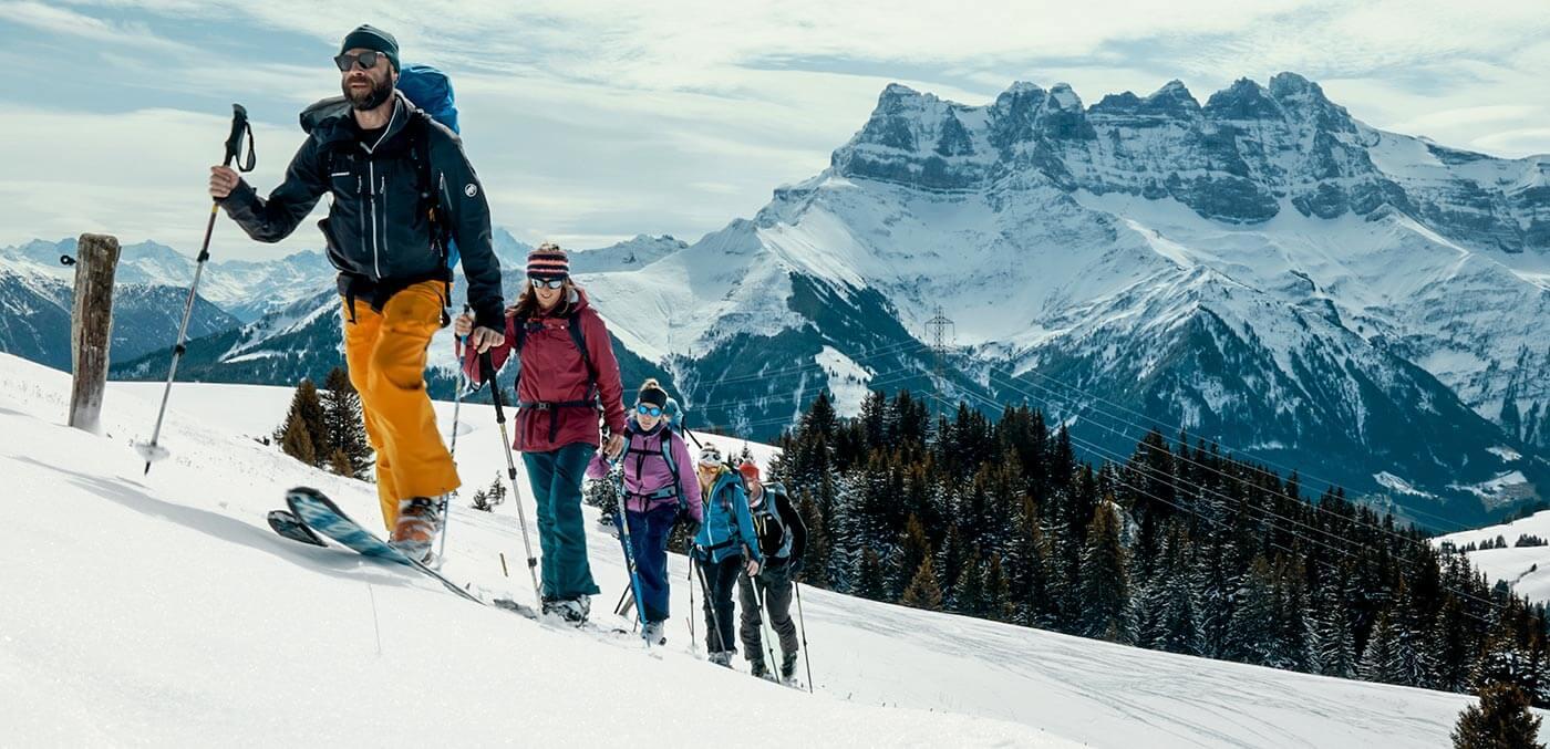 Morgins, Skitour